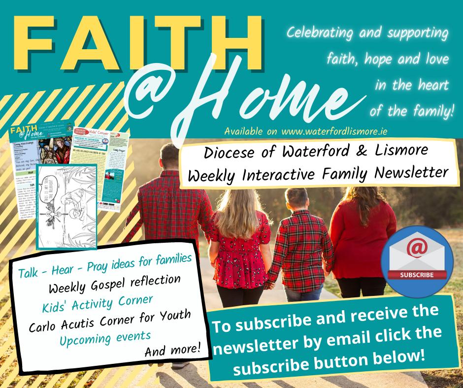 Faith@Home Newsletter