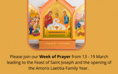 Week of Prayer Resource from the Council for Marriage and the Family