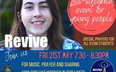 REVIVE: Live-streamed Youth Event on May 21st