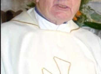 Death of Monsignor Michael Olden PE