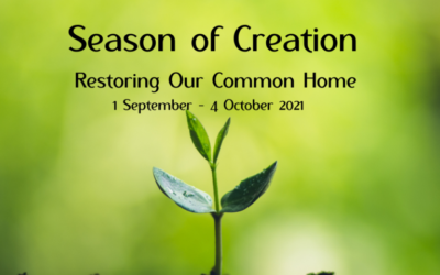 Season of Creation – 1st September to 4th October.